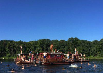 Floßabenteuer auf der Havel